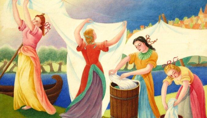 Atklās Hildas Vīkas gleznu izstādi