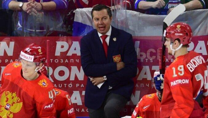 Третьяк: Воробьев продолжит тренировать сборную России