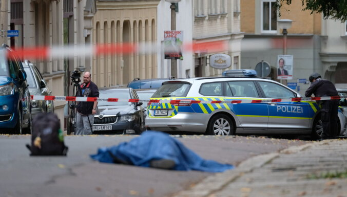 Неизвестные устроили стрельбу в немецком городе Галле, есть жертвы