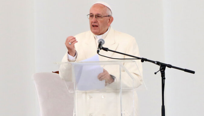 Baznīca nevar būt iecietīga pret klusēšanu ļaunprātīgas izmantošanas lietās, apliecina pāvests