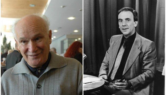 'Lielā Kristapa' mūža balvas laureāti – Ābrams Kleckins un Miks Savisko