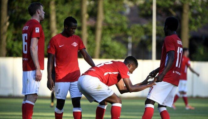 'Liepājas' un 'Spartaka' spēle pārcelta uz septembra vidu