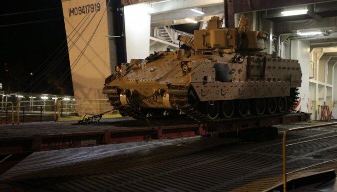 В конце апреля в Эстонии резко увеличится количество военной техники
