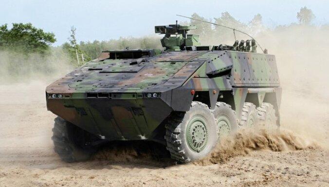 В Литву доставлены первые немецкие бронетранспортеры