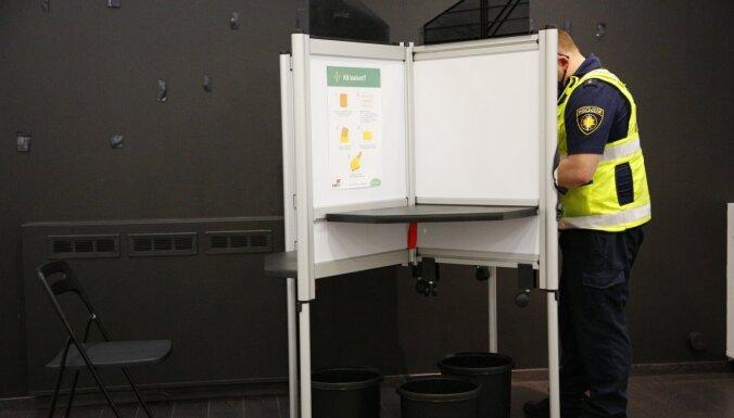 Policija sāk piecas resoriskās pārbaudes par iespējamiem balsu pirkšanas gadījumiem