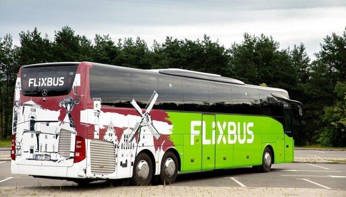 'FlixBus' no 16. jūlija uzsāks darbību Baltijas valstīs
