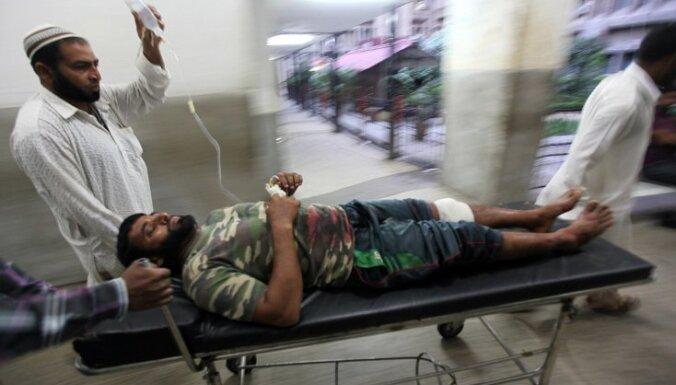Apšaudē uz Indijas-Pakistānas robežas vismaz 10 bojāgājušie