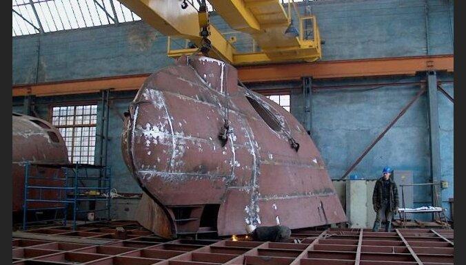 Дочерний завод Rīgas kuģu būvētava продают с молотка за долги