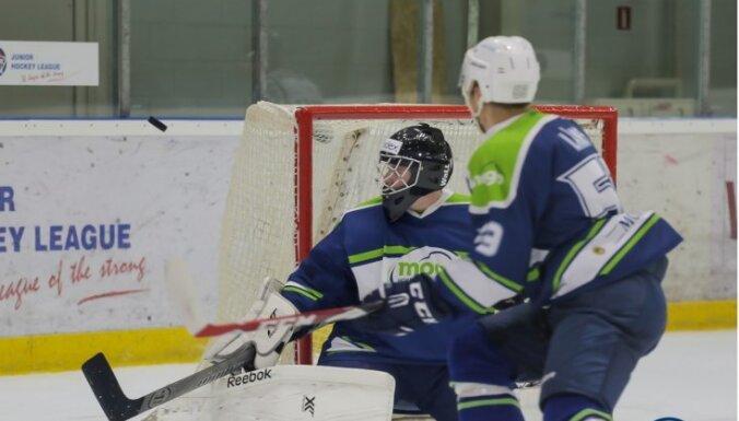 'Mogo' hokejisti noliek Latvijas čempionu pilnvaras