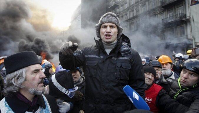 Яценюк и Кличко отказались войти в правительство Украины
