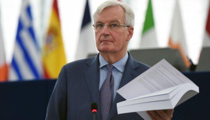Barnjē pauž vilšanos par progresa trūkumu 'Brexit' sarunās