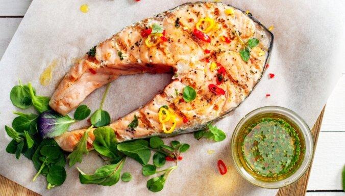 Bagātīga zivju un jūras velšu ēdienu izlase gavētājiem un vitamīnu deficīta nogurdinātajiem