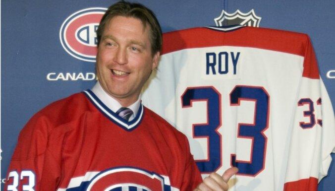 Патрик Руа начал тренерскую карьеру в НХЛ с победы и сломанной перегородки