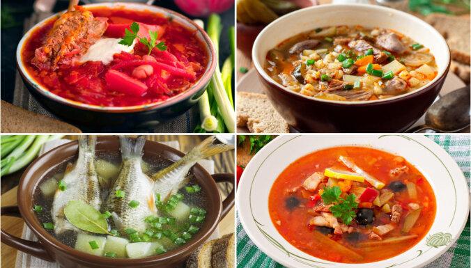 7 krievu virtuves zupas, kas jānogaršo kaut reizi mūžā