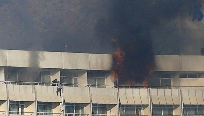 ФОТО. При нападении на отель Intercontinental в Кабуле погибли десять человек
