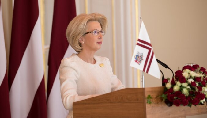 Mūrniece dosies oficiālā vizītē uz Ukrainu