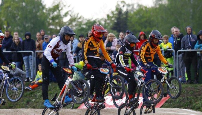 Latvijas BMX čempionāts trešais posms šīs nedēļas nogalē Jelgavā