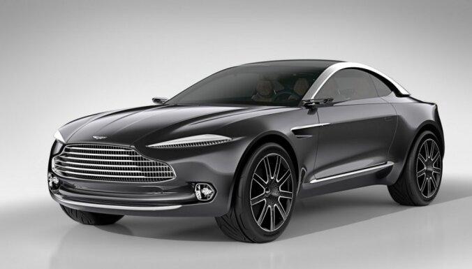 Paaugstinātās pārgājības 'Aston Martin'