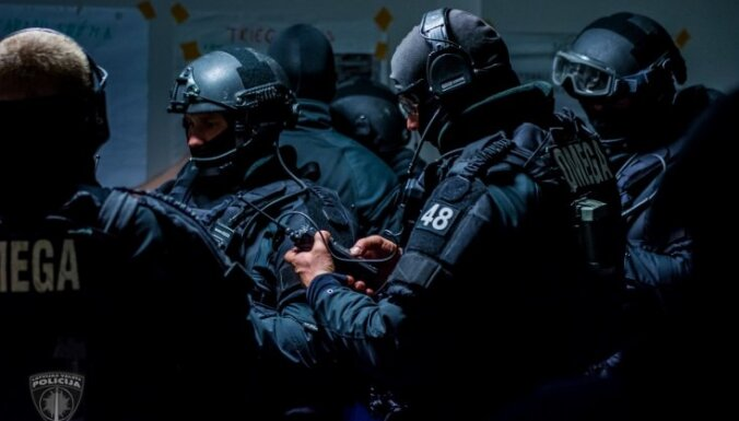 ВИДЕО: Объявлен набор в полицейский спецназ Omega