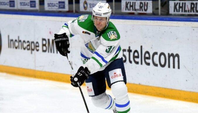 Bārtulim rezultatīva piespēle 'Salavat Julajev' uzvarā pār Daugaviņa 'Torpedo'