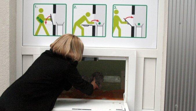 Glābējsilītē Rīgā ievietots 11.mazulis