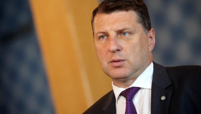 Президент: нужно делать все, что в наших силах, для свободы Латвии