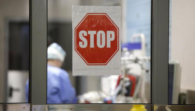 Stacionēto Covid-19 pacientu kopskaits samazinājies, slimnīcās ārstējas 1087 ar Covid-19 sasirgušie