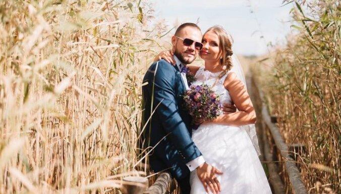 Apprecējusies dziedātāja Laura Raila