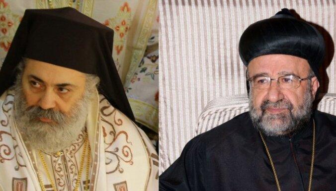 Neskaidrība par Sīrijā nolaupīto bīskapu likteni