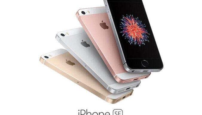 В Латвии на днях начнутся продажи самого дешевого смартфона Apple