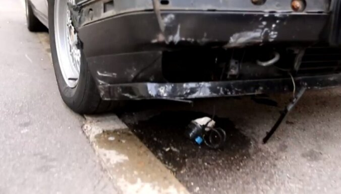 Satiksmes negadījumos ceturtdien cietuši deviņi cilvēki