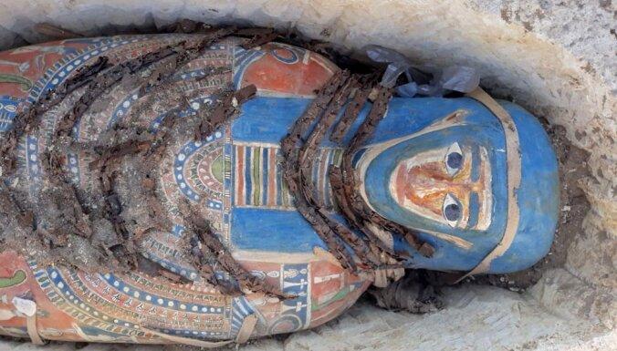В Египте нашли отлично сохранившиеся мумии возрастом 3000 лет