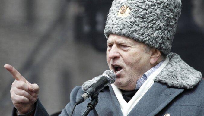 Жириновский: американцы испытывают новое оружие
