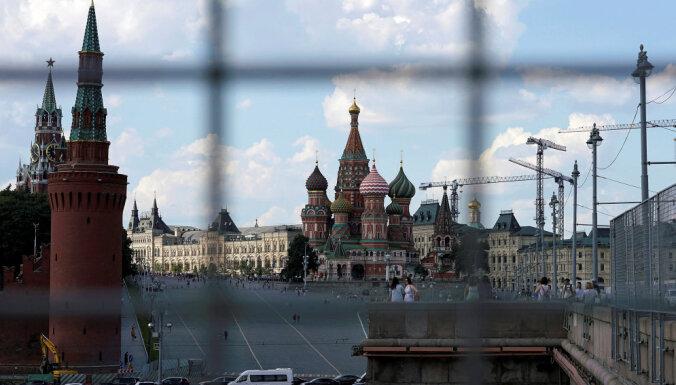 Крымско-татарские активисты провели акцию на Красной площади