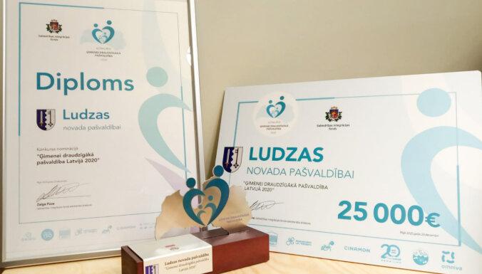 Par ģimenei draudzīgāko 2020. gadā atzīta Ludzas novada pašvaldība