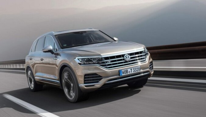 'VW Touareg' ieguvis jaudīgo dīzeļmotoru no 'Audi SQ7'