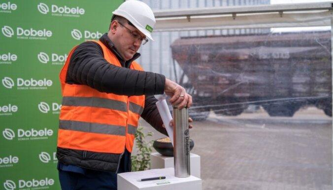 'Dobeles dzirnavnieks' uzsācis Baltijā pirmās bioloģisko graudu apstrādes ražotnes būvniecību