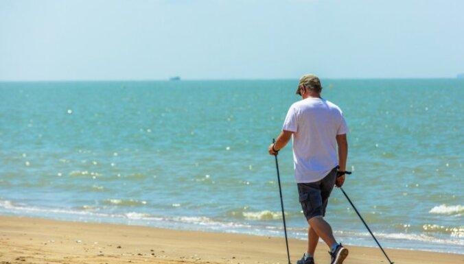 Latvijas tīrākā piekraste – Abragciema pludmale; netīrākā – pie Liepājas Karostas