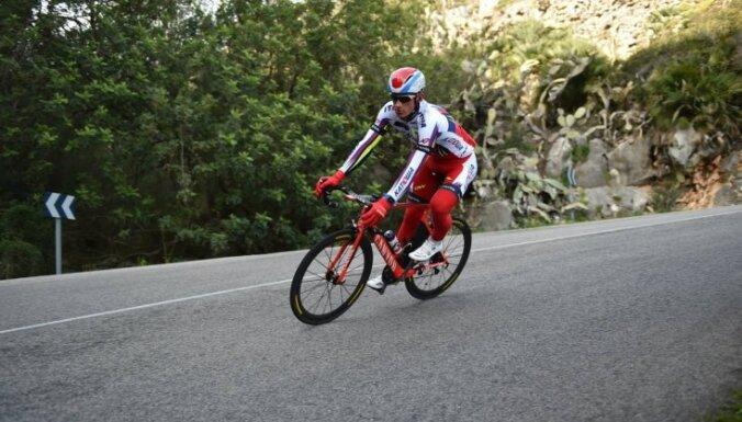 У латвийского велогонщика констатирован перелом локтевого сустава