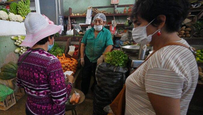 Karantīnas režīmā Peru vīrieši un sievietes mājas varēs pamest atšķirīgās nedēļas dienās