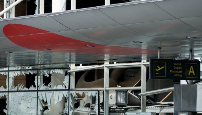 Briseles lidosta būs slēgta vismaz līdz otrdienai