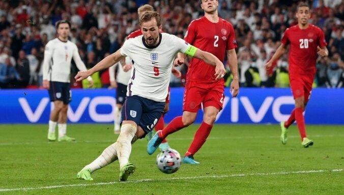 Anglijai 'pendele' pagarinājumā palīdz pirmo reizi sasniegt Eiropas čempionāta finālu