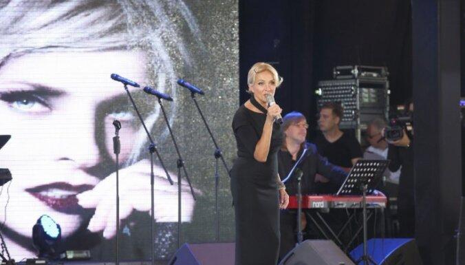 ФОТО: Гостей фестиваля Лаймы Вайкуле ждал большой сюрприз