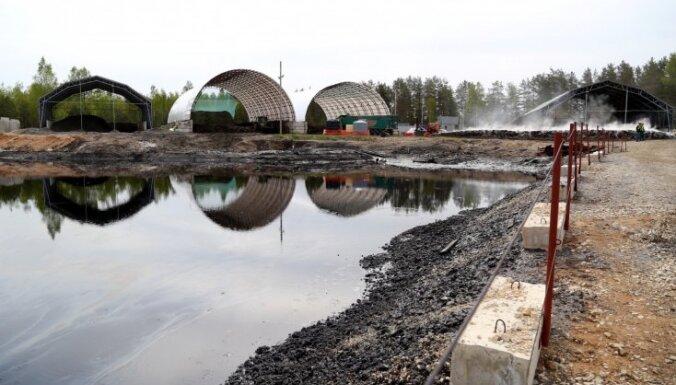 Raidījums: Iespējams, indīgo gudronu apglabās Latvijā