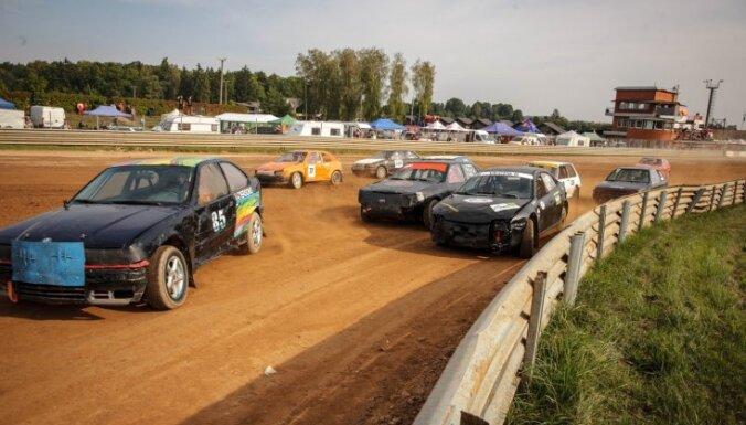 Bauskā noslēdzas Latvijas autokrosa čempionāts