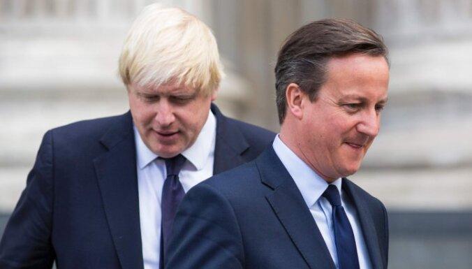"""Кэмерон: """"Джонсон не верил в Brexit и поддержал его ради карьеры"""""""