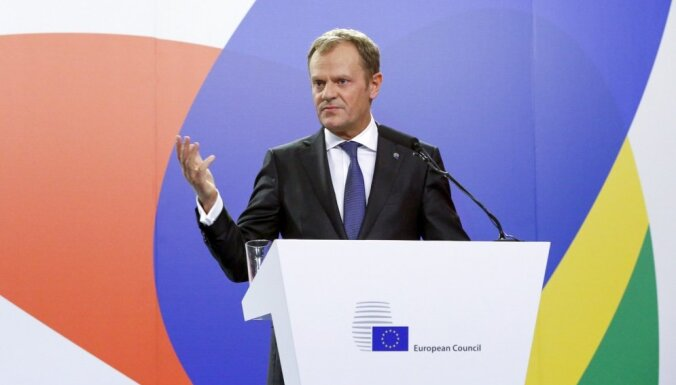 """Туск назвал """"Северный поток-2"""" противоречащим законам ЕС"""