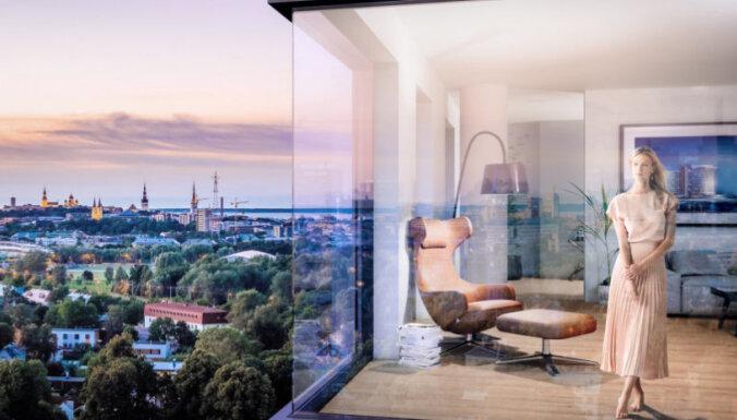 ФОТО. В Эстонии на продажу выставлена самая большая и дорогая люксовая квартира