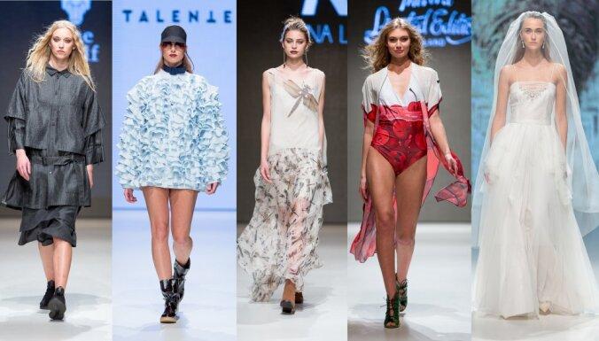 Rīgas modes nedēļas trešā diena: ielu stils, klasika un katras princeses sapnis