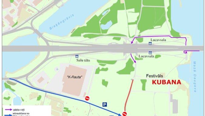 Посетителей Kubana призывают не ехать на фестиваль на машине (+схема)